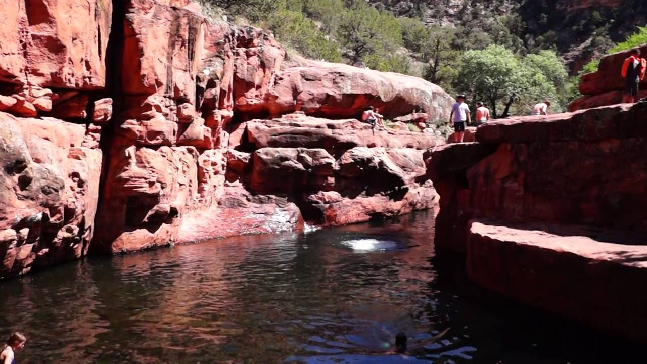 The Crack Swimming Hole - Wet Beaver Creek