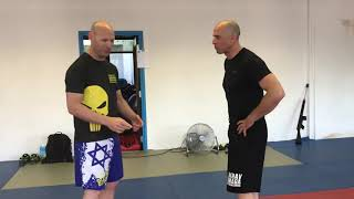 Inside & Outside Defenses with Amnon Darsa at Expert Camp, Institute Krav Maga Netherlands.