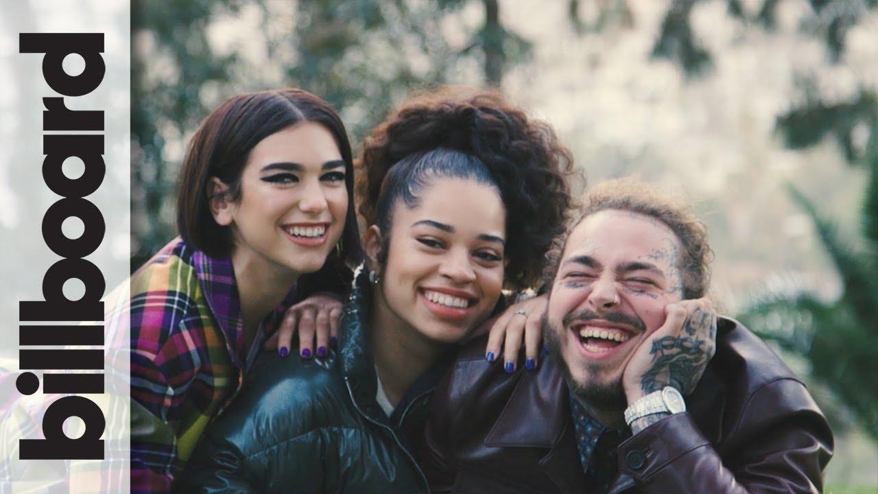 Behind the Scenes at Post Malone, Dua Lipa & Ella Mai's Grammy Preview Cover Shoot | Billboard