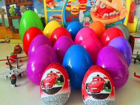 20 Киндер Сюрприз на русском языке Kinder Тачки Киндер Сюрприз Тачки Kinder surprise Cars