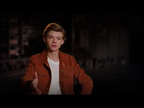 "MAZE RUNNER THE DEATH CURE ""Newt"" Interview - Thomas Brodie-Sangster"