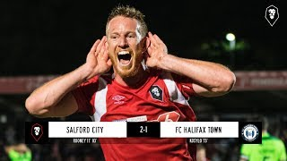Salford City 2-1 Halifax Town - National League 14/08