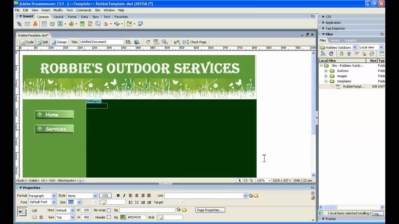 dreamweaver tutorial pdf ebook download