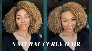New Moisturizing Curly Hair Routine!