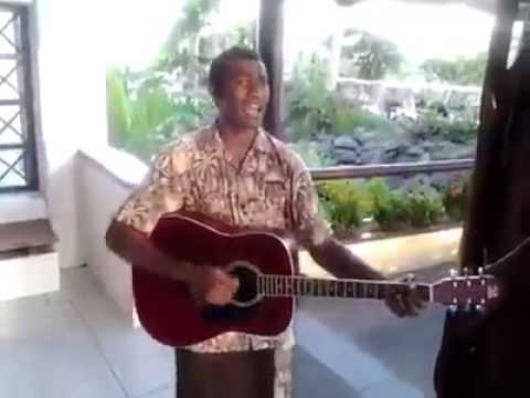Stuck on You cover by Fijian singer Wait till he sings!!