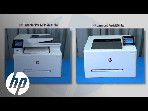 Competitive Performance Evaluation: Color LaserJet Pro MFP M281fdw and M254dw | HP LaserJet Pro | HP