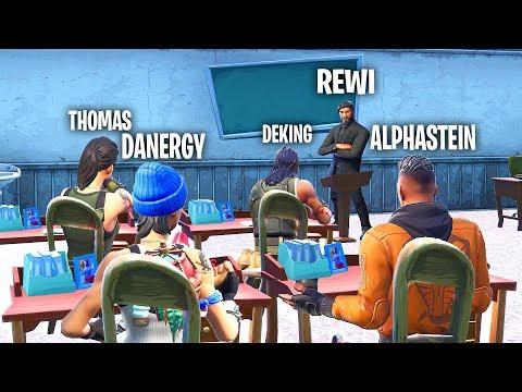 REWI ist ALPHASTEINS LEHRER! - Fortnite Teacher!