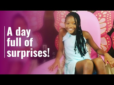 My daughters surprise birthday party! Pt 1: it's LIT!!!