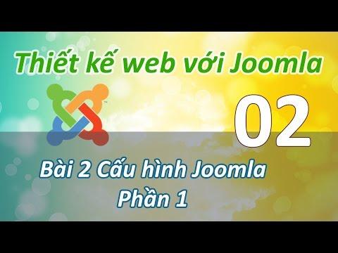 Joomla - 02 Cau hinh he thong Joomla P1