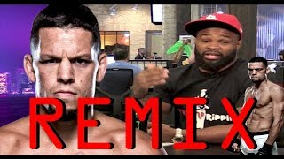 Tyron Woodley mocks Nate Diaz REMIX
