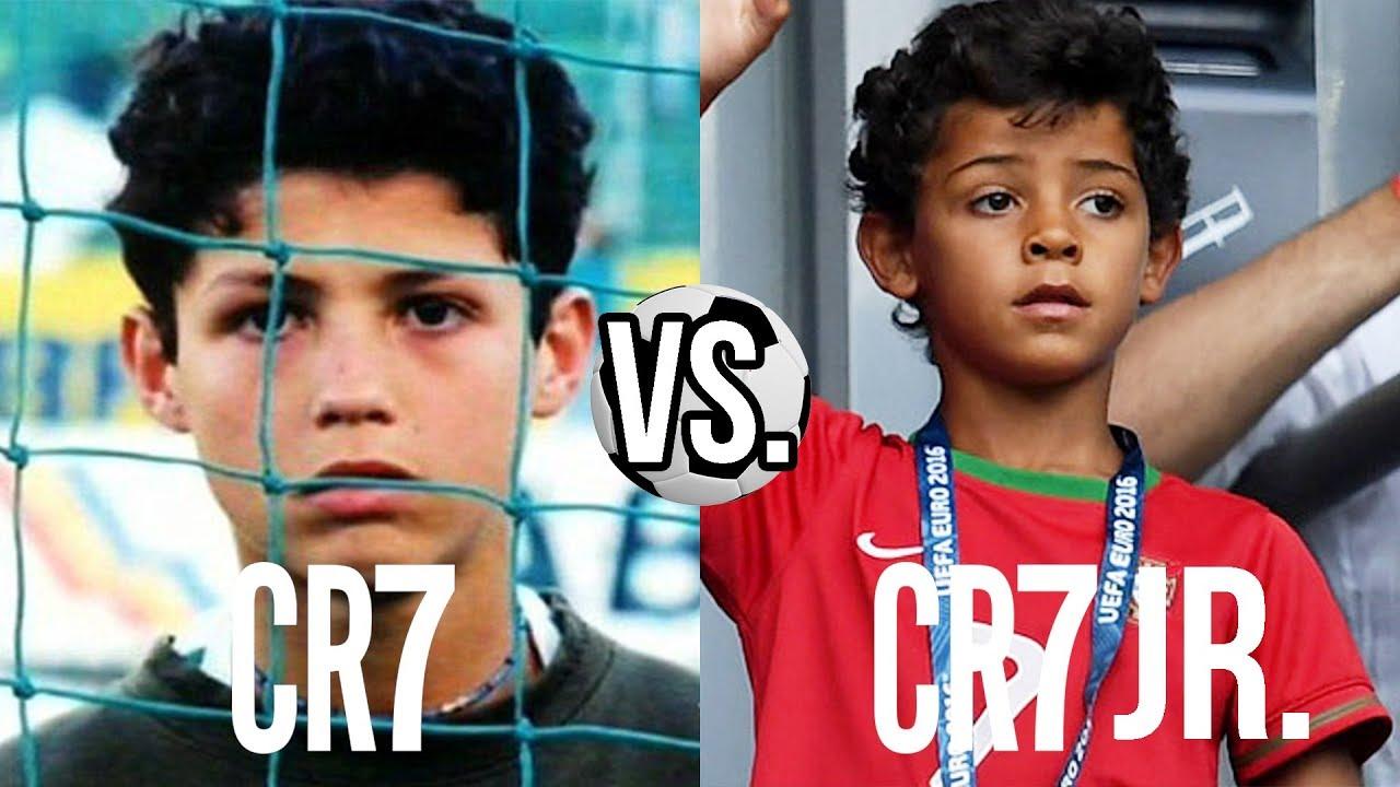 Cristiano Ronaldo VS. Cristiano Ronaldo Jr. - WER IST BESSER?