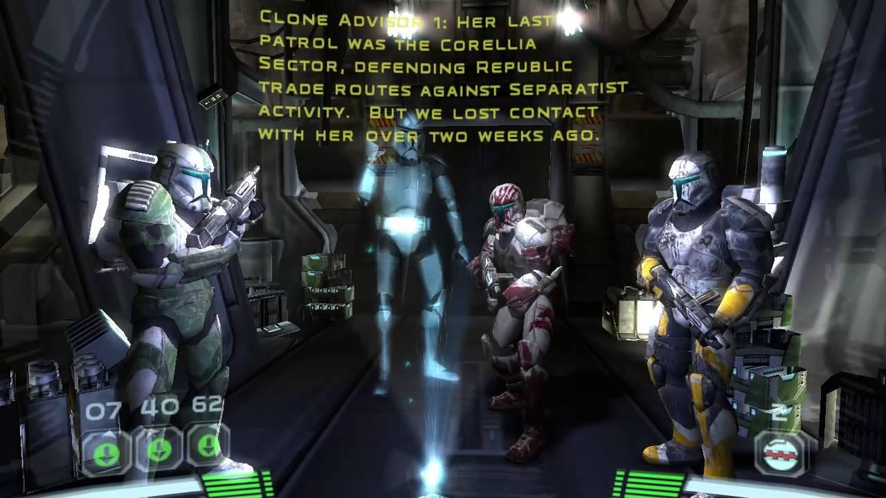 Star Wars Republic Commando Part 45 Briefing For The Prosecutor