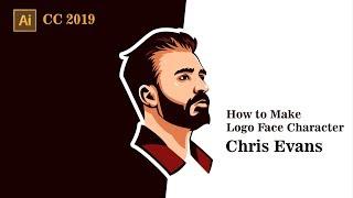 Skill Share  How To Make Face Characer Logo In Adobe Illustrator