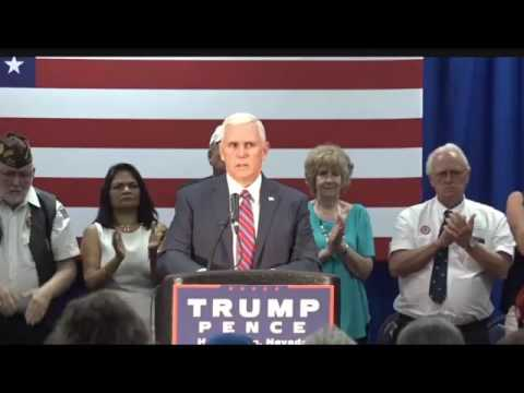 Mike Pence FULL Henderson NV Town Hall 8/17/16