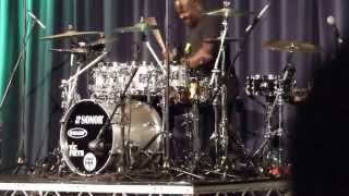 Chris Coleman Opening Drum solo (London Drum Show 2013)
