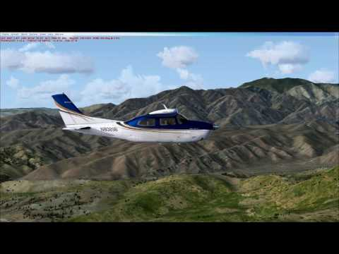 KPSP to KTNP in Cessna CT210M Centurion II Turbo HD with FSX and ORBX Scenery
