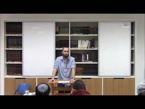 הרב קובי וולק - סוגיות באמונה - יראת שמים 15.12.16 חלק 1