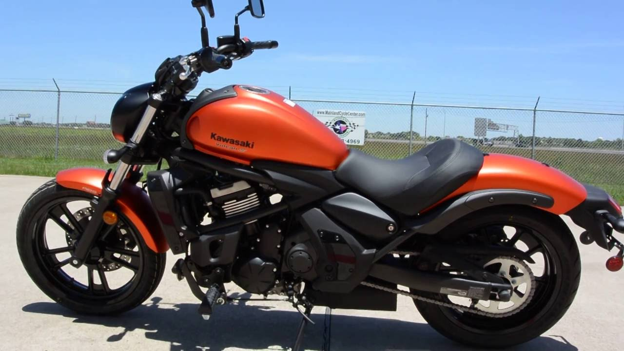 Sale 6199 2016 Kawasaki Vulcan S Abs In Candy Matte Orange Overview And Review