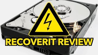 Recoverit Lost File Data Recovery Software REVIEW