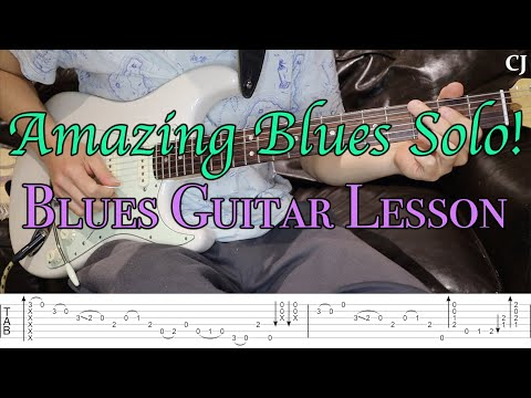 Amazing Blues Solo! (With Tab)