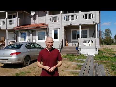 Большой деревянный дом из сухого профилированного бруса. Часть 1.