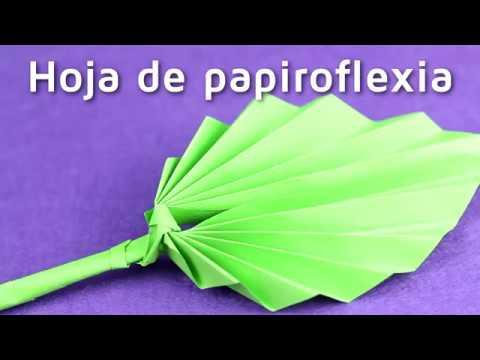 C mo hacer hojas de papel con papiroflexia facilisimo - Como hacer jarrones de papel ...