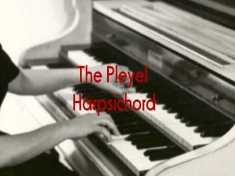 Sylvia Marlowe on PLEYEL HARPSICHORD Boogie Woogie Harry James AFRS Show Garrard 301
