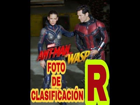 Foto de calificación R  de antman and wasp