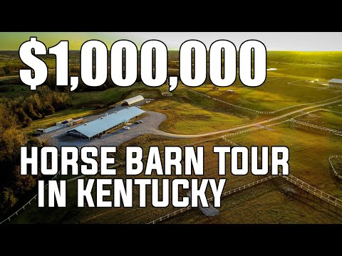 98 Acres And A Million Dollar Horse Barn Tour Kentucky Horse Property