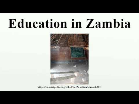 Education in Zambia