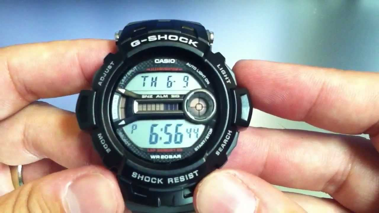 Black Casio G-Shock Watch GD200-1D - YouTube 8d91c225cb95