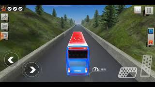 video game . Modern bus Drive.Buýt mô phổng trò chơi đậu xe.Trò chơi xe buýt mới 2021 screenshot 1