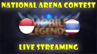 🔴 INDONESIA VS THAILAND National Arena Contest 9/10/2017 - Mobile Legends Indonesia