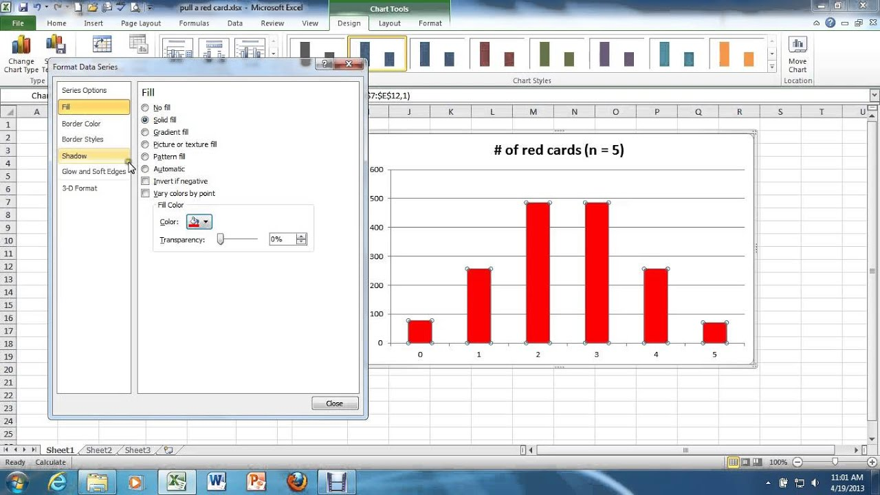 how to build a histogram in excel 2010