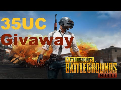 PUBGMobileLive   35UC Giveaway From Chat   Check Description For More   Subscribe For Support