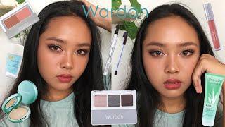 Wardah One Brand Makeup Tutorial Makeup Lokal ENG SUB