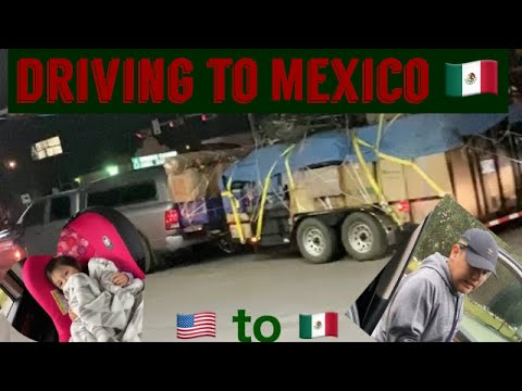 DRIVING TO MEXICO 🇲🇽