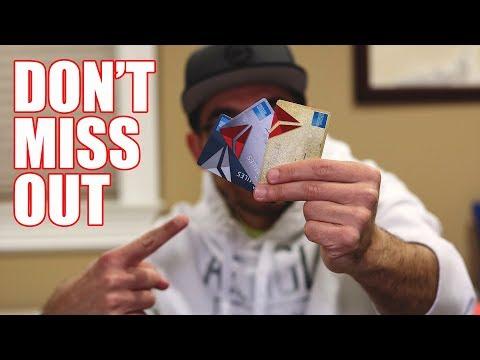 Amex Delta Skymiles Credit Cards HIGH BONUS
