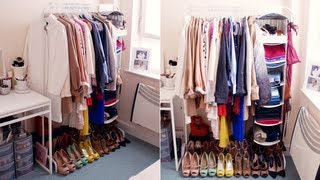 My Open Closet/wardrobe! | Interior