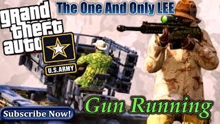 Ps4 -( Grand Theft Auto V( Hacksaw Ridge)Gun Running.