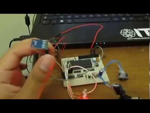 HMC5883L Compass sensor with AVR Microcontroller - YouTube