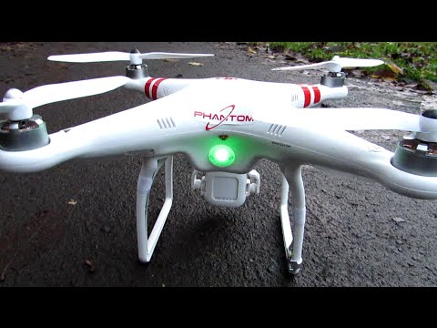 DJI Phantom FC40 - Guide, Flight Demo & GPS Setup