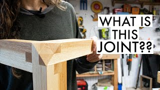 This joint looks complicated, but it's only TWO cuts!! What would you call it??