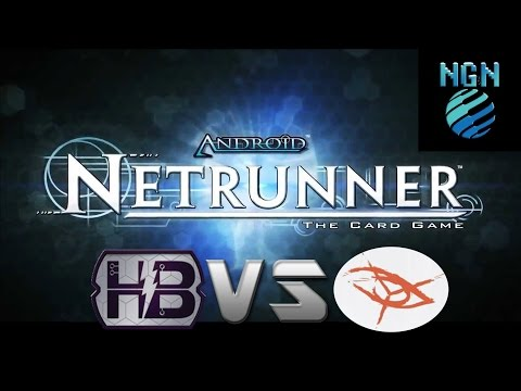 Android: Netrunner Game Night Kit Round 1 Engineering the Future vs Noise