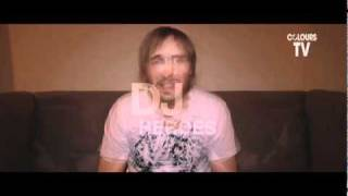 DAVID GUETTA - COLOURS TV - Question Time