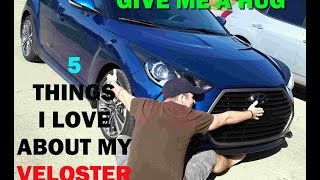 5 things i love about my veloster