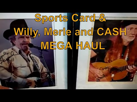 Memorabilia & Sports Card Collection Haul (Complete Picker episode 14) Johnny Cash Signed 3K+ profit