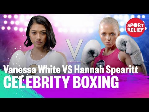 Vanessa White vs Hannah Spearitt  Celebrity Boxing  Sport Relief 2018