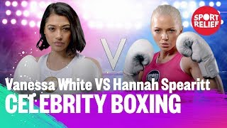 Vanessa White vs Hannah Spearitt | Celebrity Boxing - Sport Relief 2018