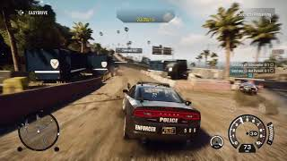 Need for Speed™ Rivals police chase Aston martin